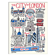 Buy Julia Gash - The City Of London Unframed Print with Mount, 30 x 40cm Online at johnlewis.com