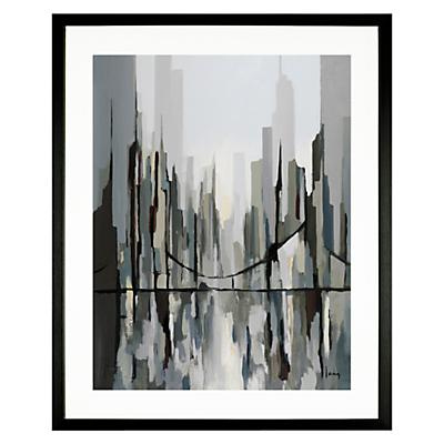 Gregory Lang – The Walking Bridge, 49 x 59cm
