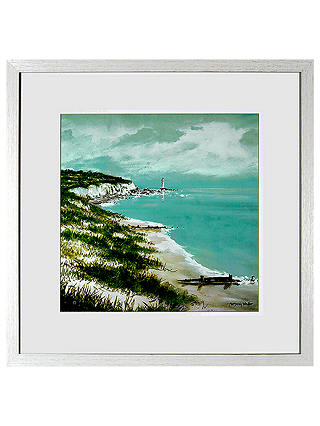 Buy Anthony Waller - Along The Coast Framed Print, 48 x 48cm Online at johnlewis.com