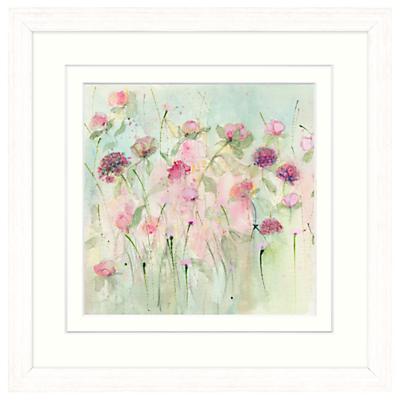 Sue Fenlon – Peonies And Roses Framed Print, 37 x 37cm