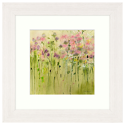 Sue Fenlon – Clover Patch Framed Print, 37 x 37cm