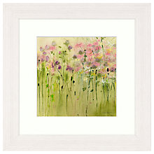 Buy Sue Fenlon - Clover Patch Framed Print, 37 x 37cm Online at johnlewis.com