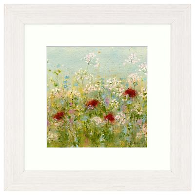 Sue Fenlon – Spring Hedgerow Framed Print, 37 x 37cm