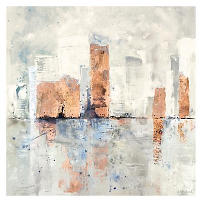 Ulyana Hammond – City Limits Canvas Print, 90 x 90cm