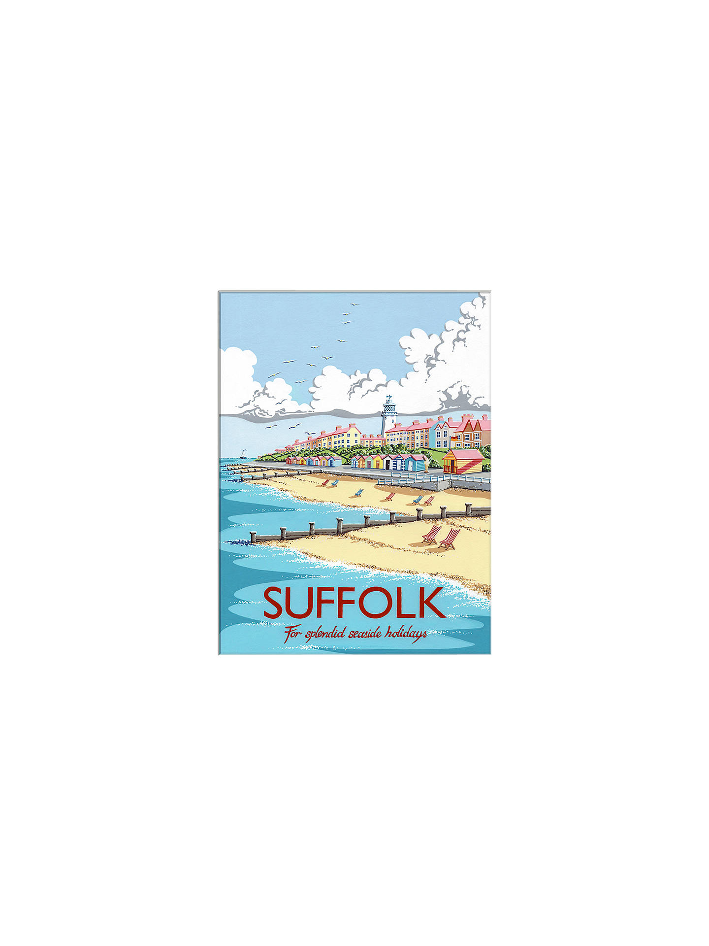 BuyKelly Hall - Suffolk Unframed Print with Mount, 30 x 40cm Online at johnlewis.com