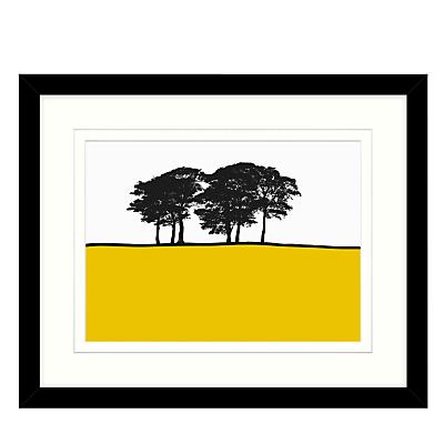 Jacky Al-Samarraie – Skipton Yellow, Framed Print, 44 x 54cm