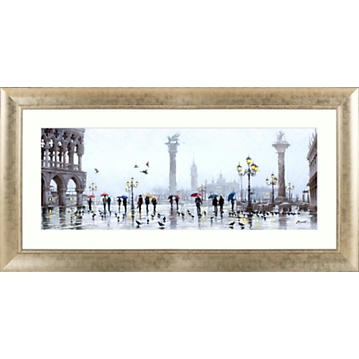 Richard Macneil – St Marco Reflection Framed Print, 112 x 57cm