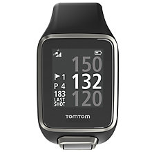 Buy TomTom Golfer 2 GPS Watch, Black Online at johnlewis.com