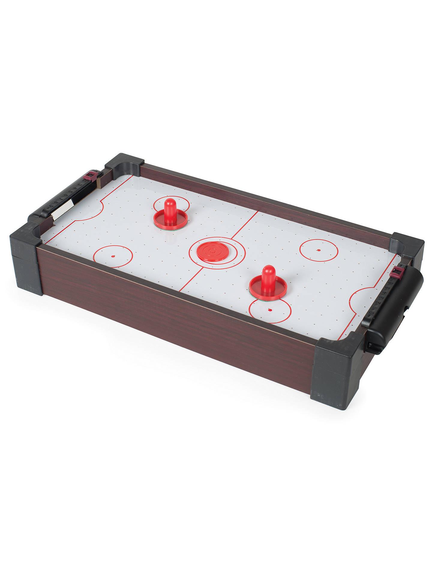 ... BuyJohn Lewis Mini One Foot Table Air Hockey Game Online At  Johnlewis.com