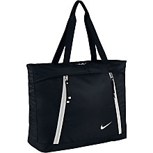 Buy Nike Auralux Training Tote Bag, Black/White Online at johnlewis.com