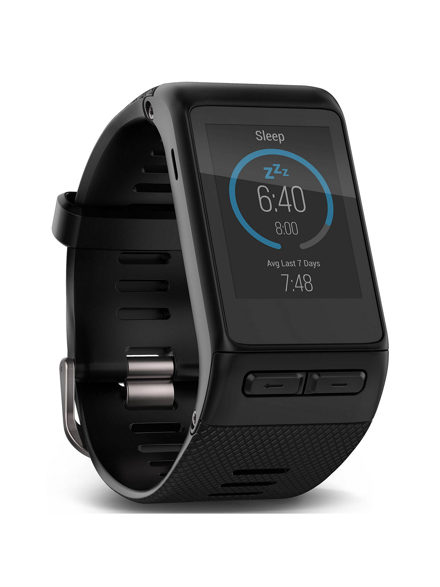 Buy Garmin vivoactive HR GPS Smartwatch, Black Online at johnlewis.com