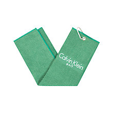 Buy Calvin Klein Golf Tri Fold Waffle Towel Online at johnlewis.com
