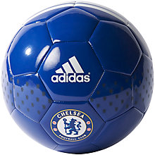 Buy Adidas Chelsea F.C. Football, Size 5, Blue Online at johnlewis.com