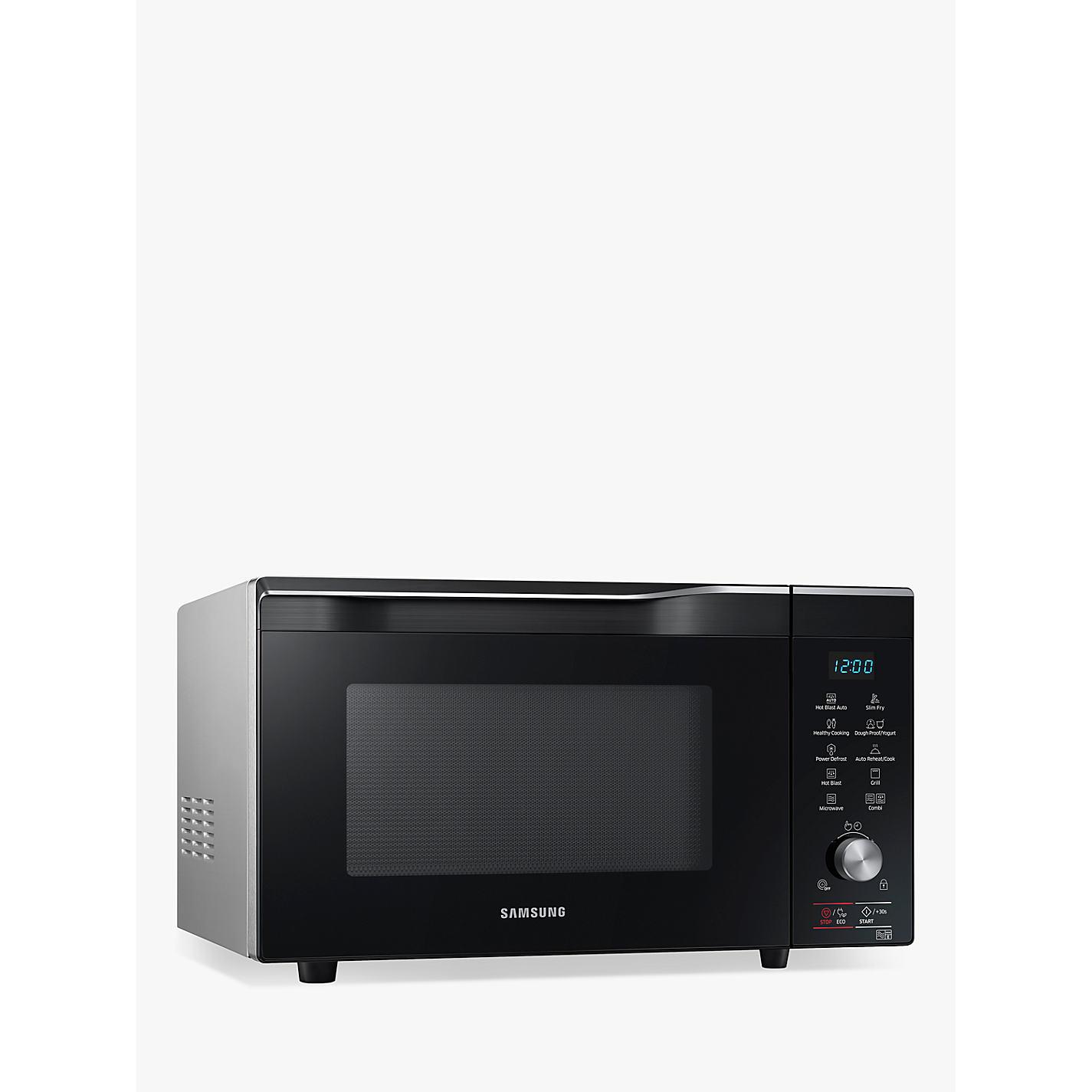 Samsung Mc32k7055ct Eu Freestanding Combination Microwave Oven Black Online At Johnlewis