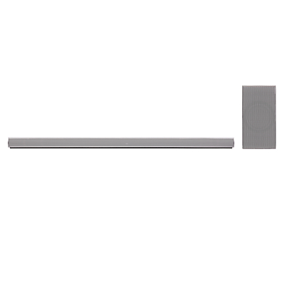 Image of LG SH7 Wi-Fi & Bluetooth Sound Bar With Wireless Subwoofer and Adaptive Sound Control, Silver