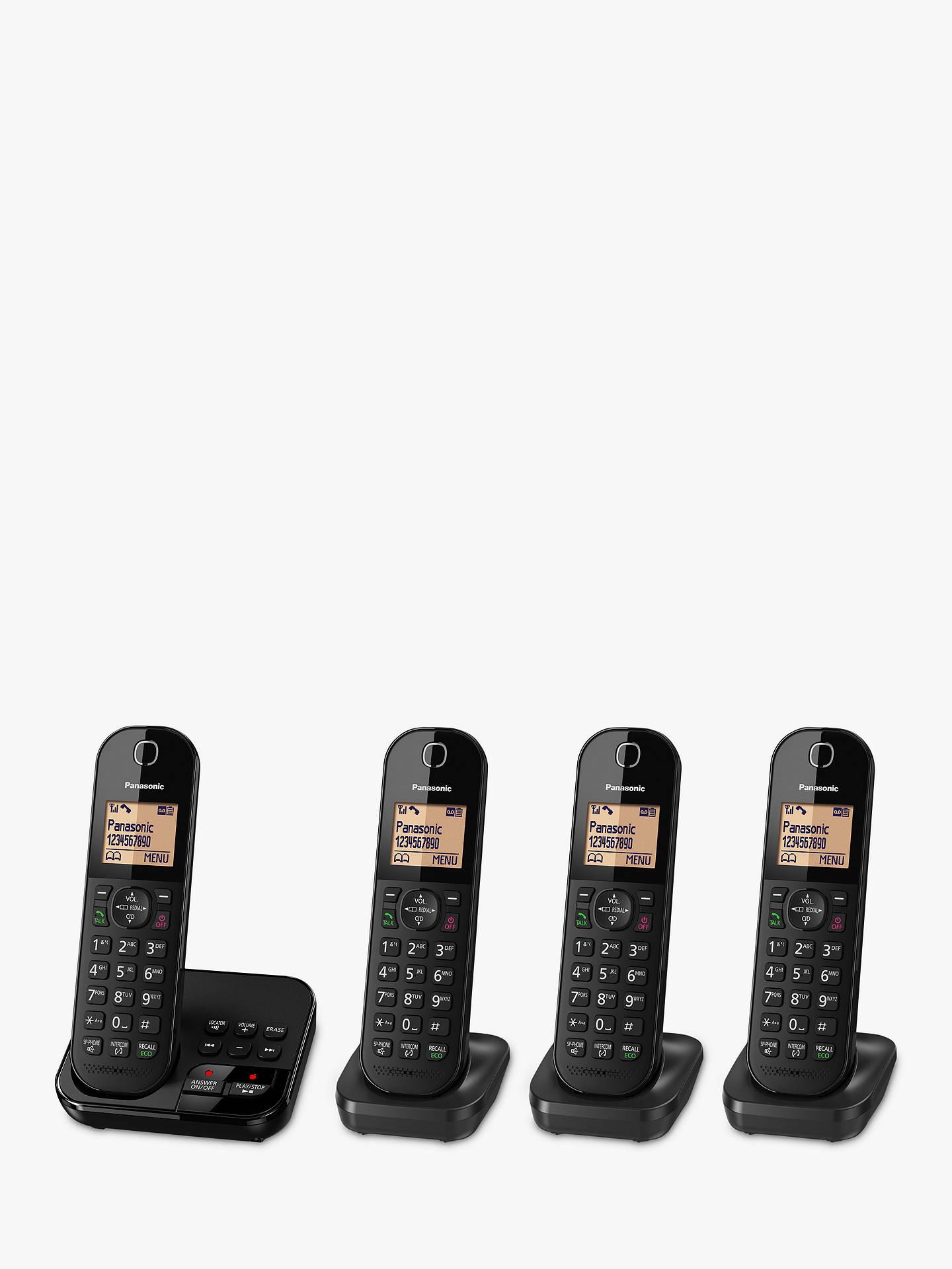 21ed9d70f0d Buy Panasonic KX-TGC424EB Digital Cordless Telephone with 1.6