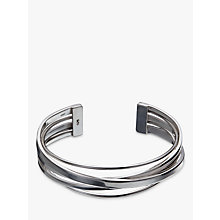 Buy Andea Sterling Silver Multi-Line Cuff, Silver Online at johnlewis.com
