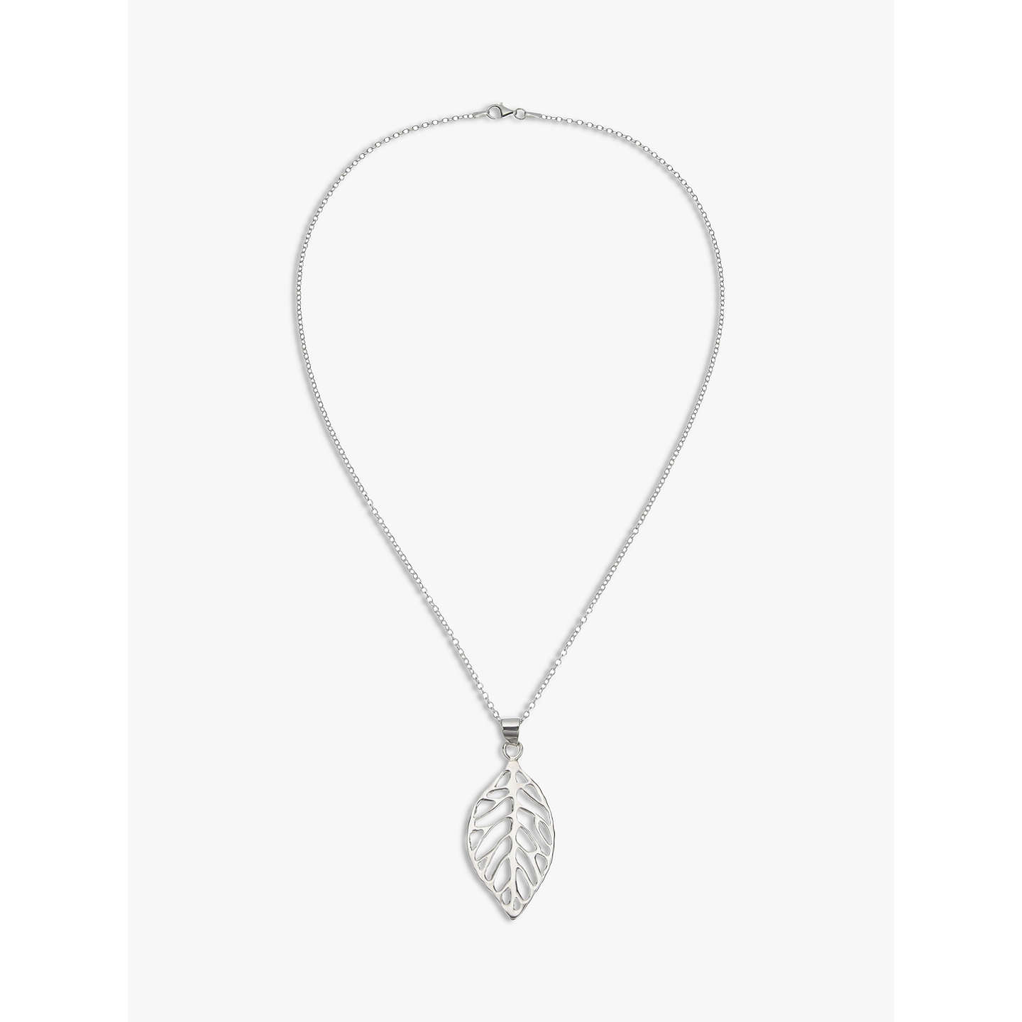 monstera products auman megan necklace modern mostera leaf brass botanical pendant