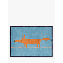 Buy Turtle Mat Scion Mr Fox Doormat, Blue Online at johnlewis.com