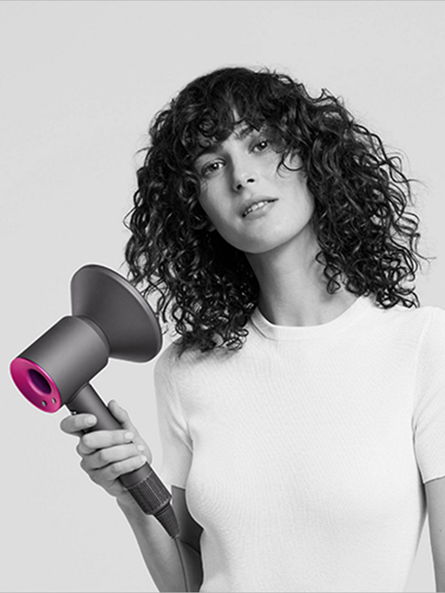 BuyDyson Supersonic™ Hair Dryer, Iron/Fuchsia Online at johnlewis.com