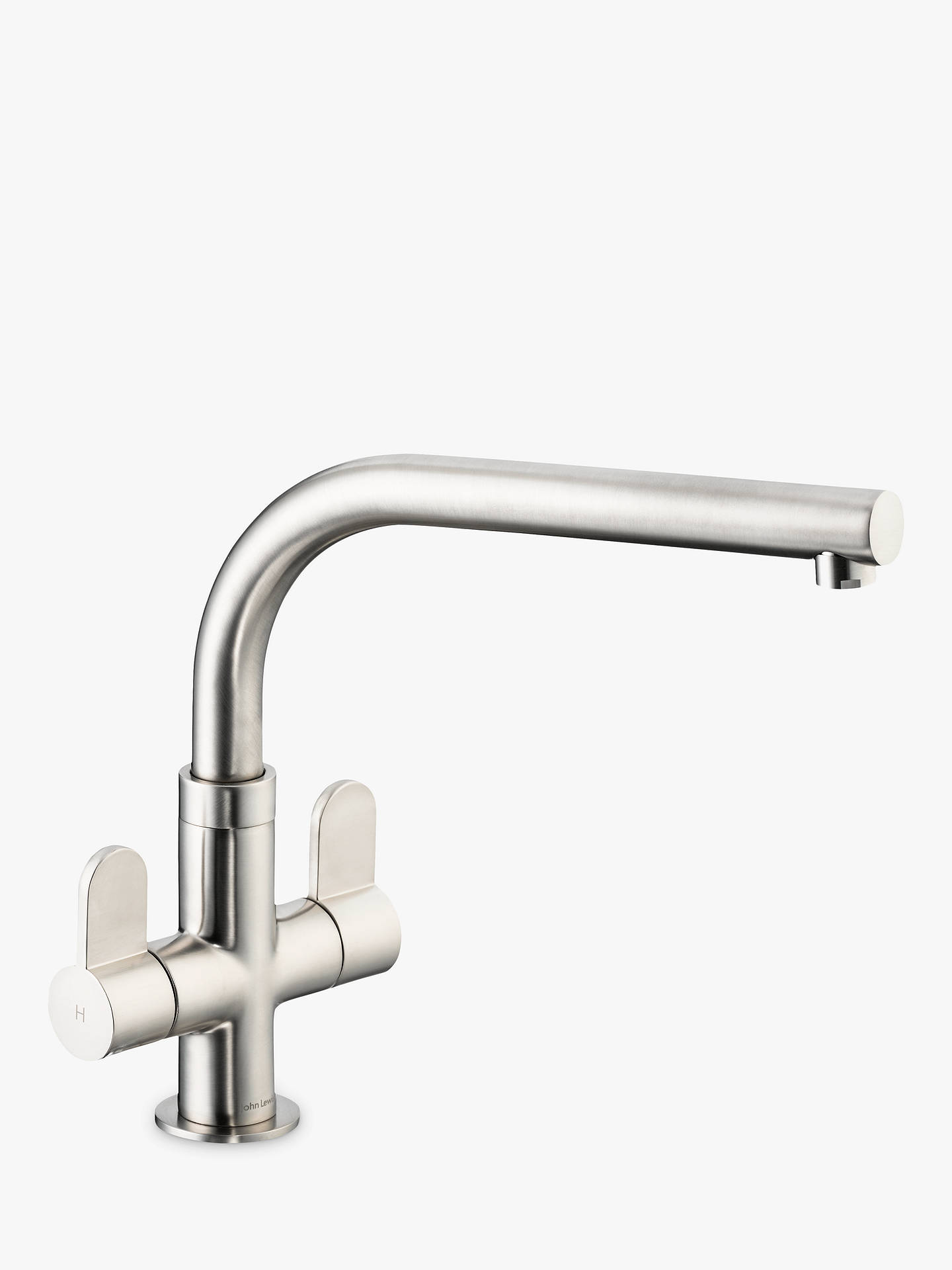 BuyJohn Lewis & Partners Race Kitchen Tap, Brushed Steel Online at johnlewis.com