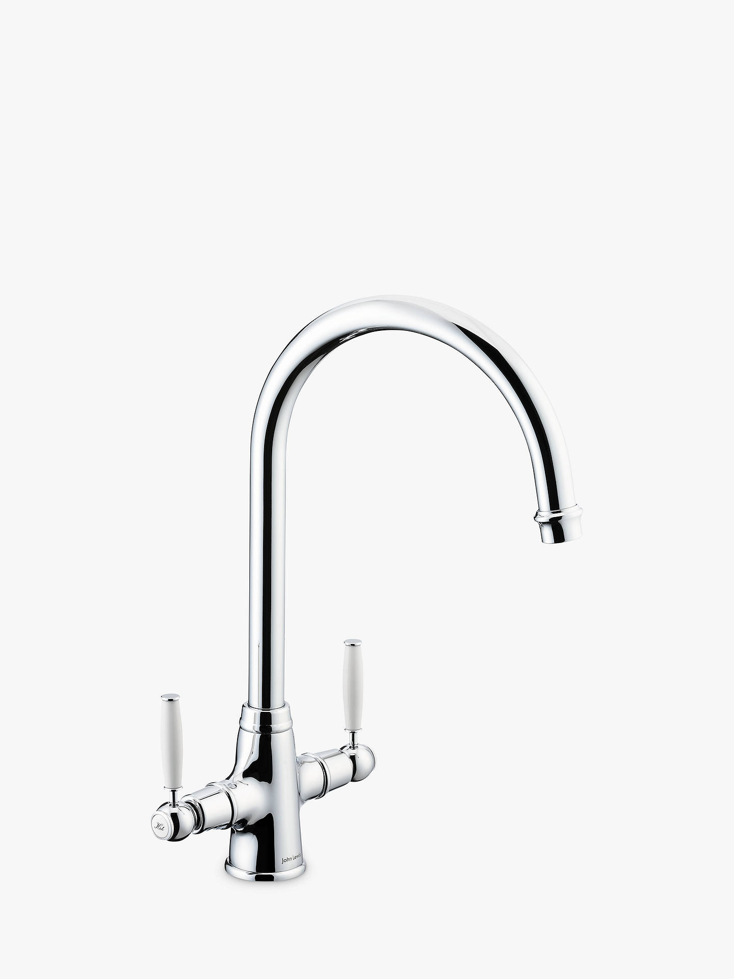 BuyJohn Lewis & Partners Glide Kitchen Tap, Chrome Online at johnlewis.com
