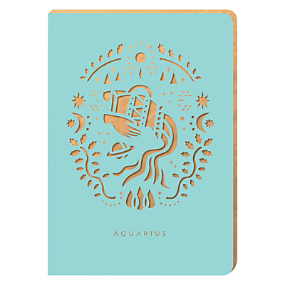 Portico Zodiac Collection A6 Notebook