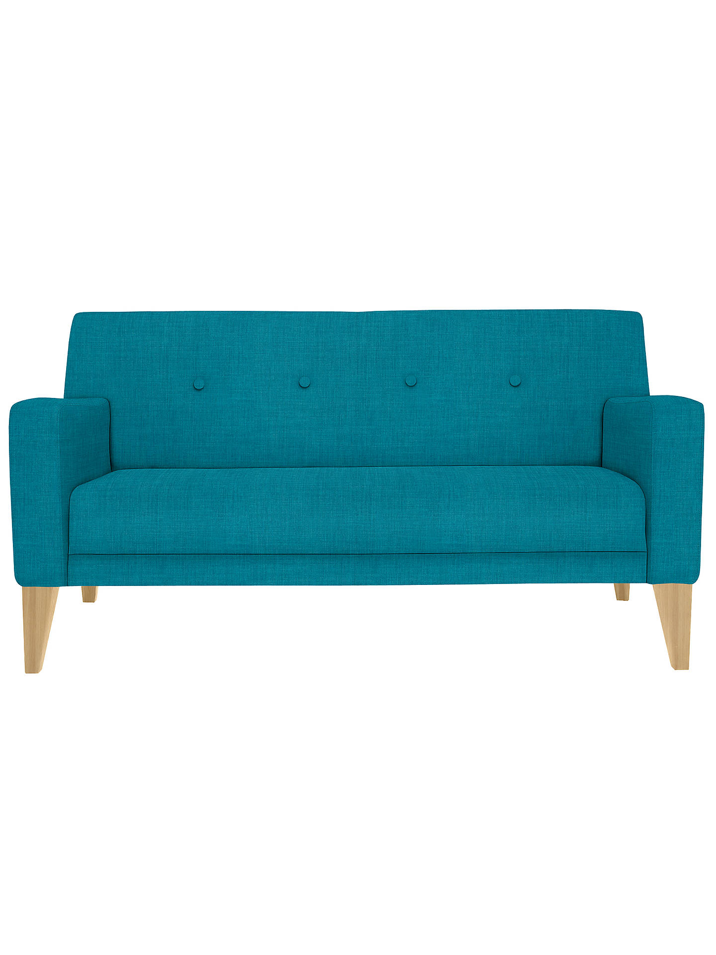Awe Inspiring House By John Lewis Louis Small 2 Seater Sofa Light Legs Theyellowbook Wood Chair Design Ideas Theyellowbookinfo