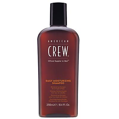 Image of American Crew Daily Moisturising Shampoo, 250ml