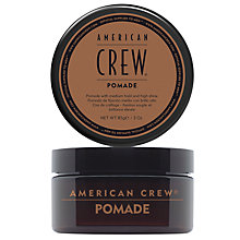 Buy American Crew Pomade, 85g Online at johnlewis.com