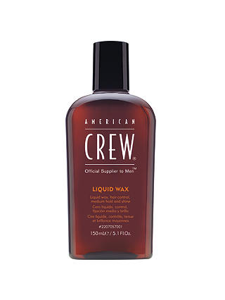 Buy American Crew Liquid Wax, 150ml Online at johnlewis.com