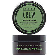 Buy American Crew Forming Cream, 85g Online at johnlewis.com
