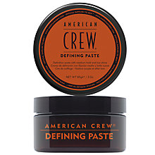 Buy American Crew Defining Paste, 85g Online at johnlewis.com