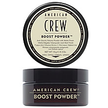 Buy American Crew Boost Powder, 10g Online at johnlewis.com