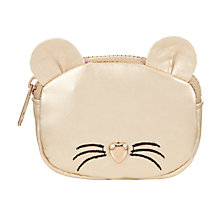 Buy John Lewis Children's Mouse Purse, Gold Online at johnlewis.com