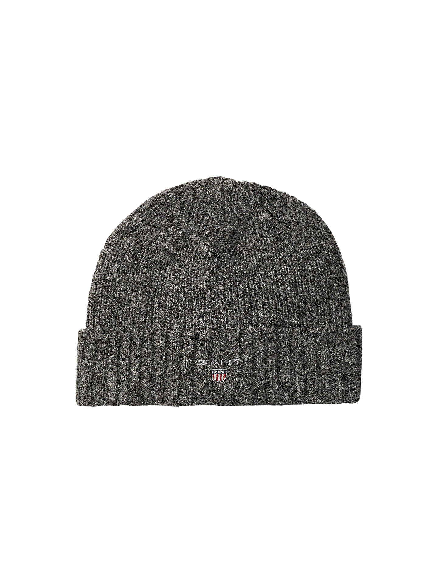 82098b0e GANT Lined Rib Beanie, One Size at John Lewis & Partners