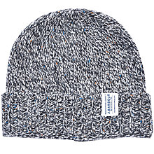 Buy Barbour Whitfield Beanie Hat, One Size, Grey Online at johnlewis.com