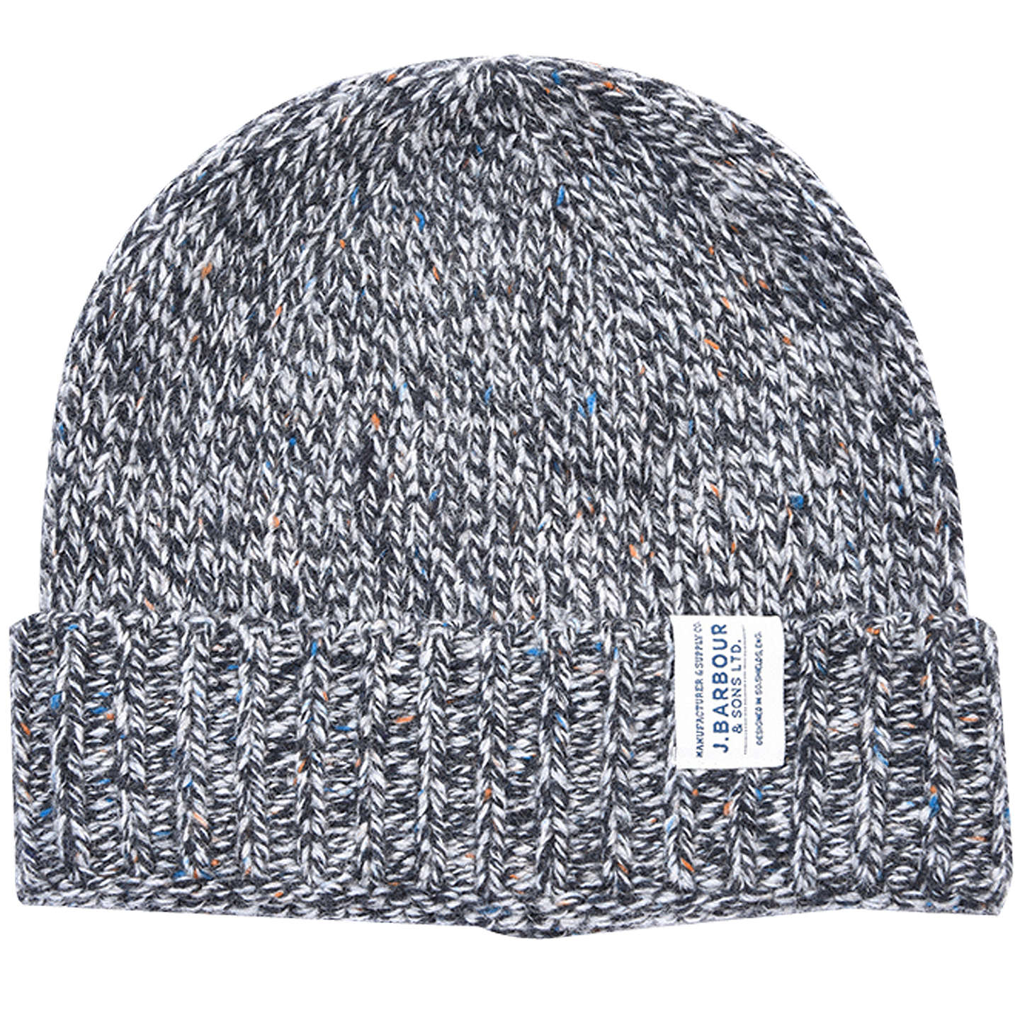 BuyBarbour Whitfield Beanie Hat, One Size, Grey Online at johnlewis.com