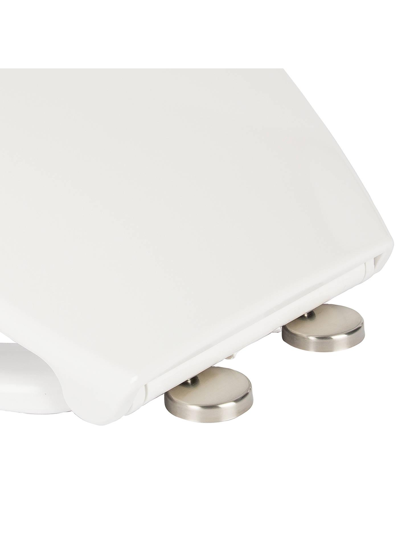 Croydex Lumino Self Lighting Toilet Seat at John Lewis