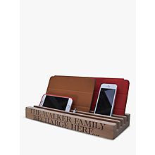 Buy The Oak And Rope Company Personalised Family Charging Station Online at johnlewis.com