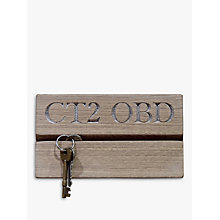 Buy The Oak And Rope Company Personalised Postcode Key Organiser Online at johnlewis.com