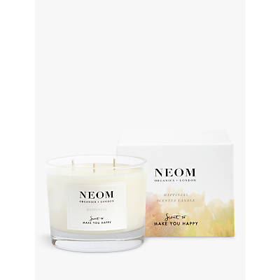 Neom Organics London Happiness 3 Wick Candle