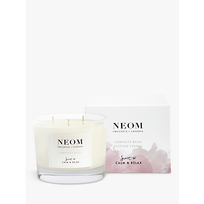 Neom Organics London Complete Bliss 3 Wick Candle