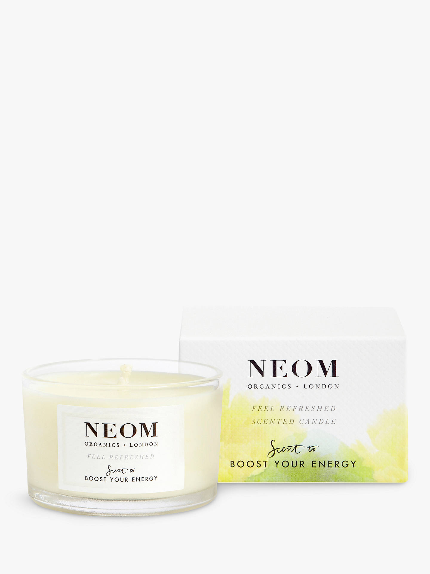 Buy Neom Organics London Feel Refreshed Travel Scented Candle Online at johnlewis.com
