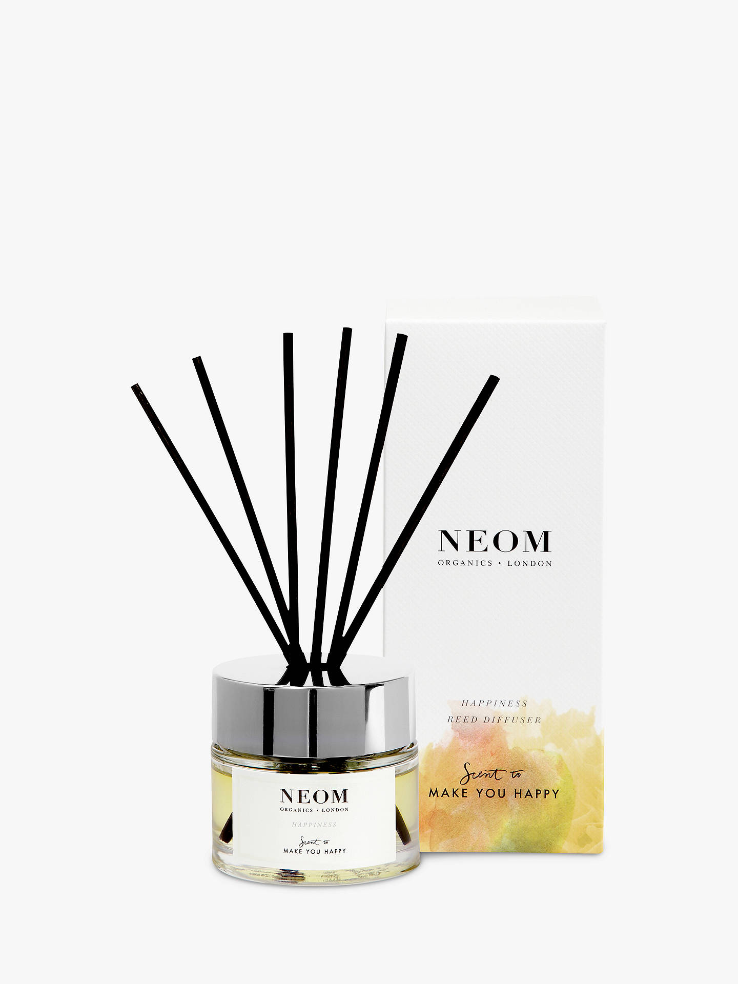 Buy Neom Organics London Happiness Reed Diffuser, 100ml Online at johnlewis.com