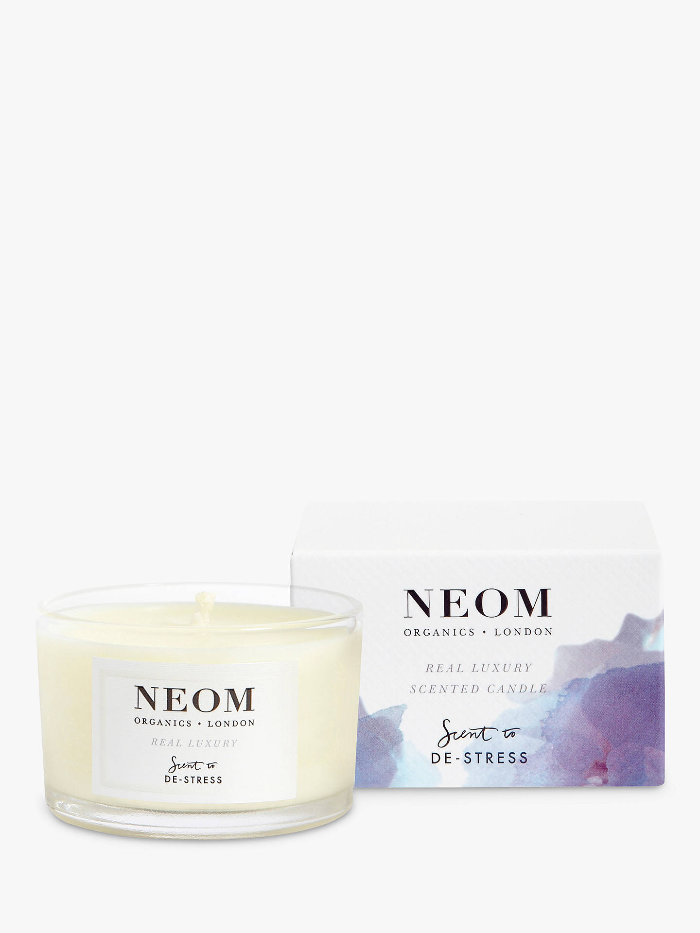 Buy Neom Organics London Real Luxury Travel Scented Candle Online at johnlewis.com