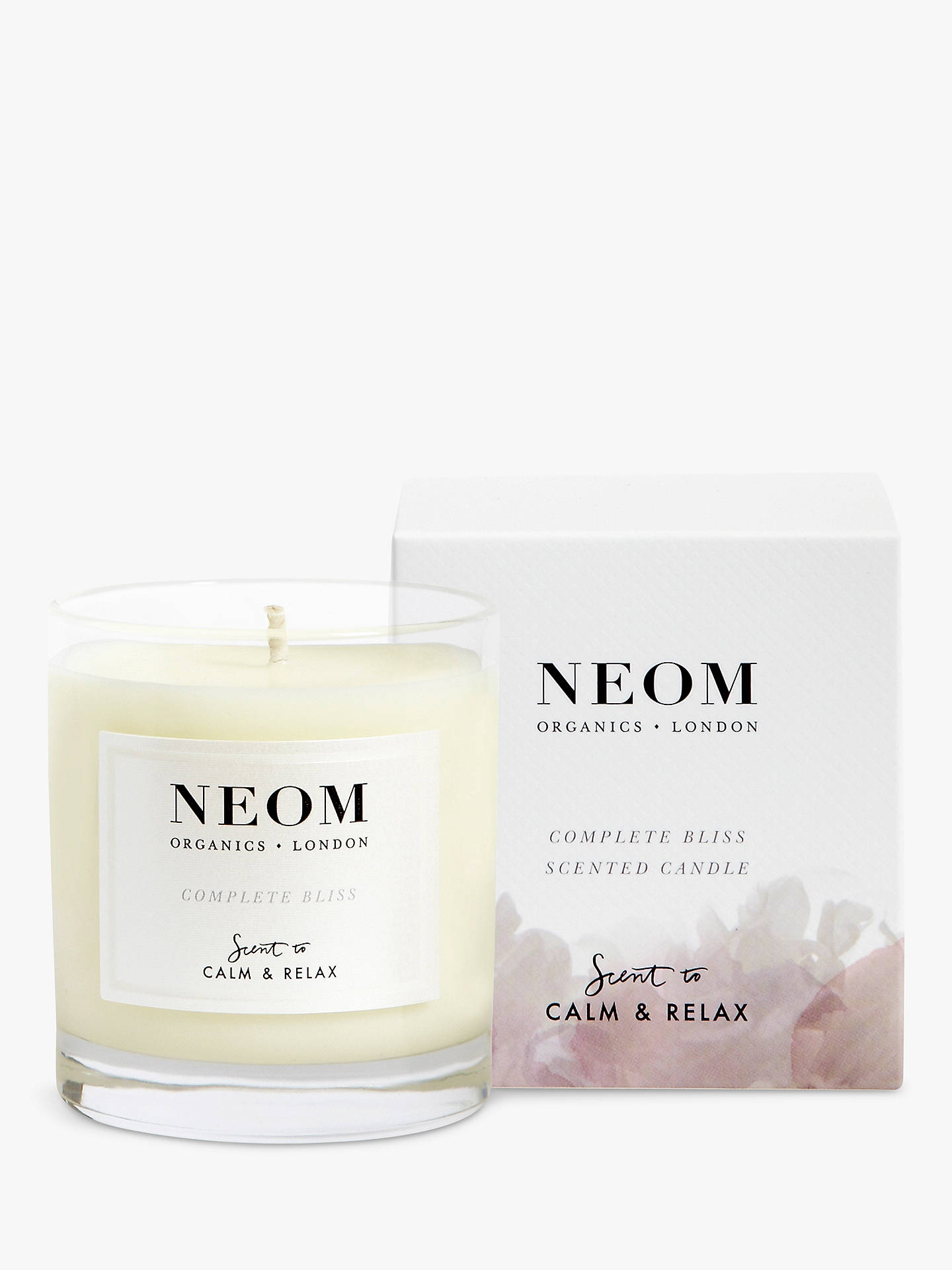 Buy Neom Organics London Complete Bliss Scented Candle Online at johnlewis.com