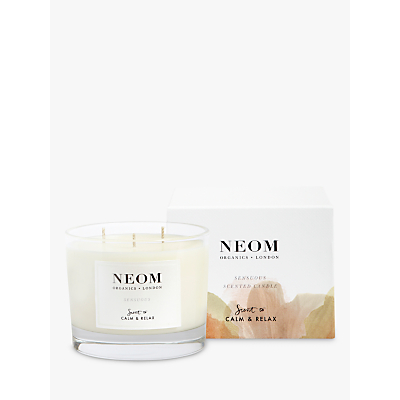 Neom Organics London Sensuous 3 Wick Candle