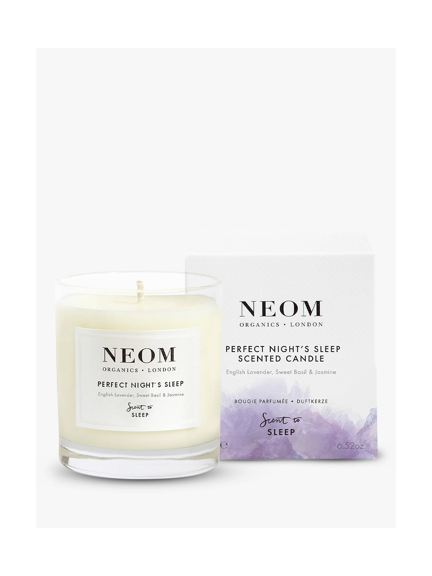 Buy Neom Organics London Tranquility Standard Scented Candle Online at johnlewis.com