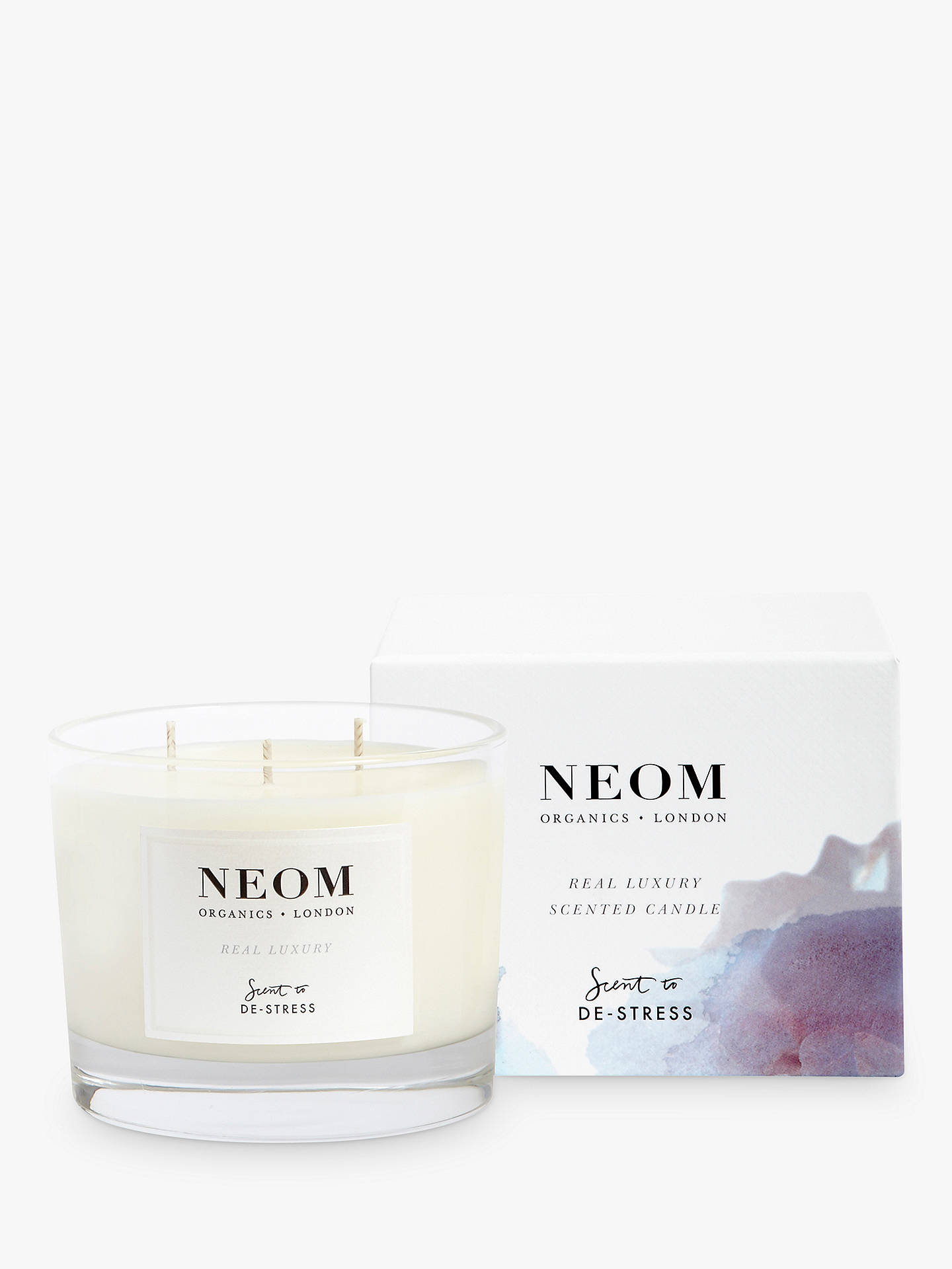 Buy Neom Organics London Real Luxury 3 Wick Scented Candle Online at johnlewis.com